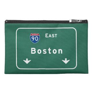 Boston Massachusetts ma Interstate Highway Road : Travel Accessory Bags