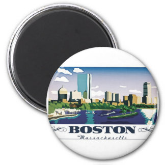 Boston, Massachusetts Magnet