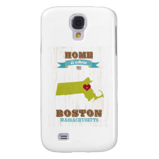 boston, massachusetts Map – Home Is Where Samsung Galaxy S4 Cases