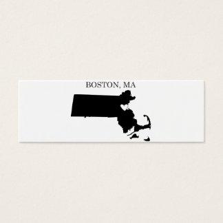Boston Massachusetts Mini Business Card