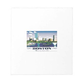 Boston, Massachusetts Notepad