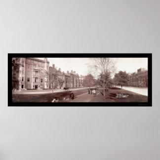 Boston, Massachusetts Photo 1903 Poster