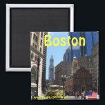 """Boston Massachusetts photography magnet<br><div class=""""desc"""">Boston Massachusetts photography magnet</div>"""