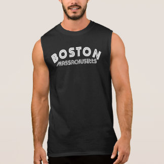 Boston Massachusetts Camisetas Sin Mangas