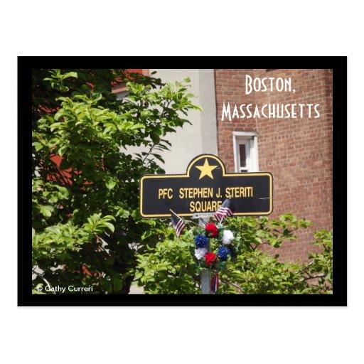 Boston, Massachusetts Postal