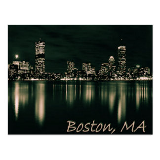 Boston, Massachusetts Postcard