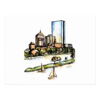 Boston, Massachusetts Postcard