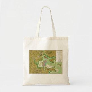 Boston Massachusetts Revolutionary War Map Bags