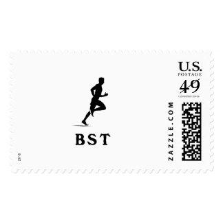 Boston Massachusetts Running Postage