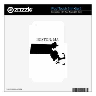 Boston Massachusetts Skin For iPod Touch 4G