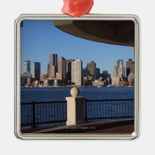 Boston, Massachusetts skyline 2 Ornament