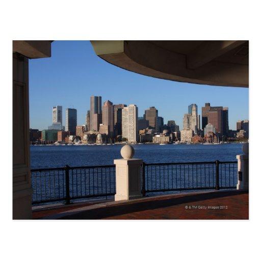 Boston, Massachusetts skyline 2 Post Cards