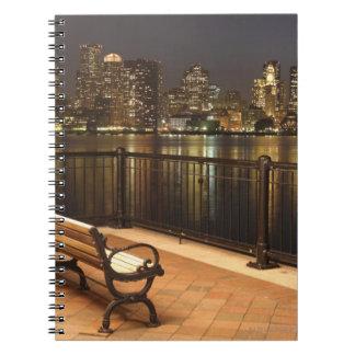 Boston, Massachusetts skyline 3 Notebook