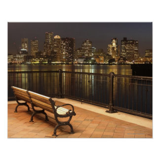 Boston, Massachusetts skyline 3 Poster