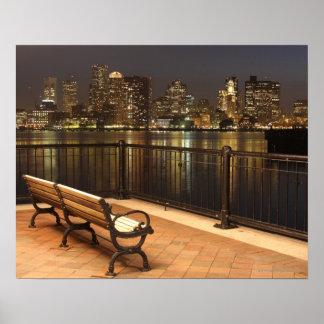 Boston, Massachusetts skyline 3 Print