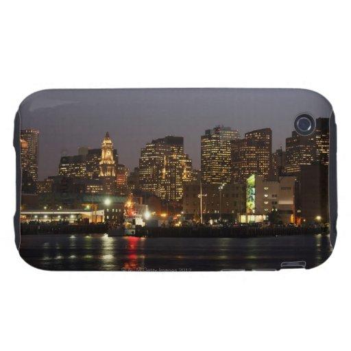 Boston, Massachusetts skyline 4 iPhone 3 Tough Cases