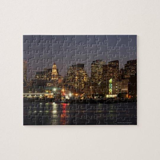 Boston, Massachusetts skyline 4 Jigsaw Puzzle