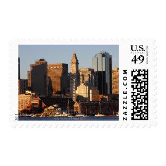Boston, Massachusetts skyline 5 Postage