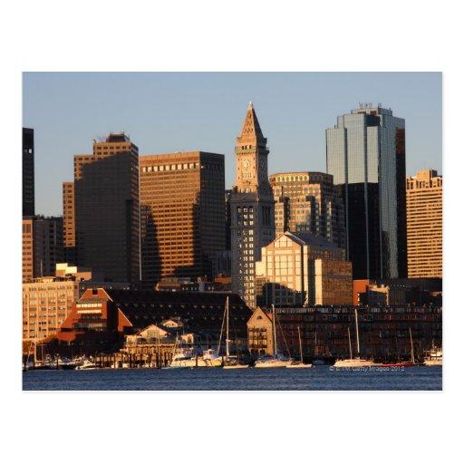 Boston, Massachusetts skyline 5 Postcard