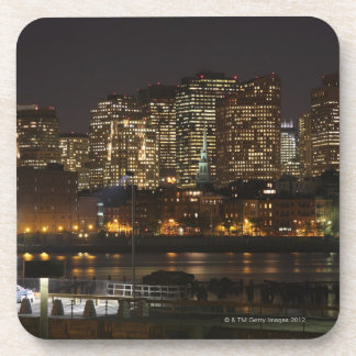 Boston, Massachusetts skyline 6 Beverage Coaster