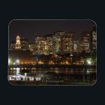 """Boston, Massachusetts skyline 6 Magnet<br><div class=""""desc"""">AssetID: 83696472 / {Denis Tangney Jr} / Boston,  Massachusetts skyline</div>"""