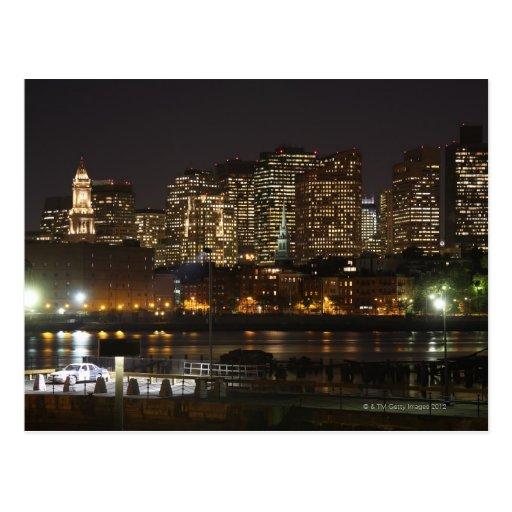 Boston, Massachusetts skyline 6 Postcard