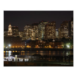 Boston, Massachusetts skyline 6 Poster