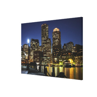 Boston, Massachusetts skyline Canvas Print