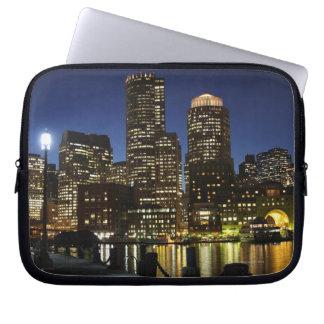 Boston, Massachusetts skyline Computer Sleeve