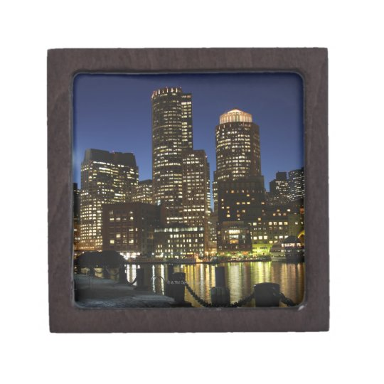 Boston, Massachusetts skyline Gift Box