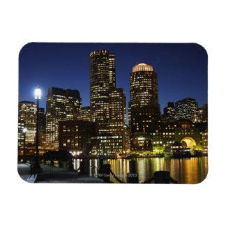 Boston, Massachusetts skyline Magnet