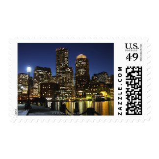 Boston, Massachusetts skyline Postage