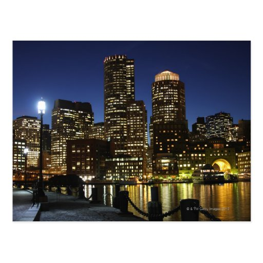 Boston, Massachusetts skyline Postcards