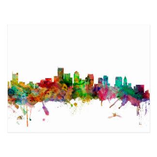 Boston Massachusetts Skyline Postcard