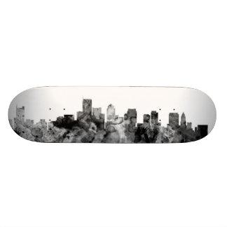 Boston Massachusetts Skyline Custom Skate Board