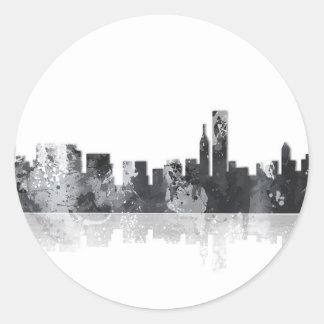 BOSTON MASSACHUSETTS SKYLINE - Stickers