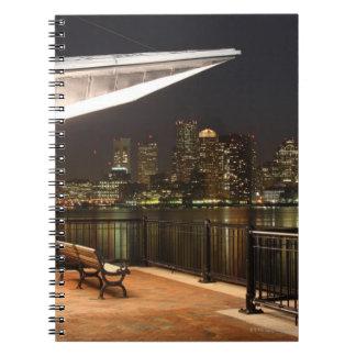 Boston, Massachusetts Spiral Notebook