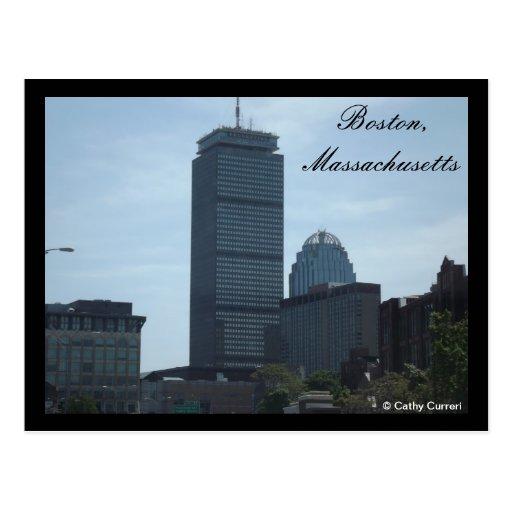 Boston, Massachusetts Tarjeta Postal