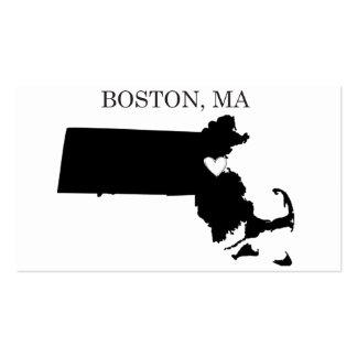 Boston Massachusetts Tarjetas De Visita