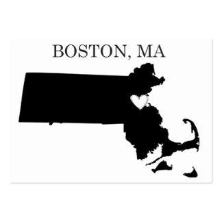 Boston Massachusetts Tarjetas De Visita Grandes