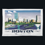 "Boston, Massachusetts Towel<br><div class=""desc"">Boston is Massachusetts' capital and largest city. Founded in 1630, it's one of the oldest cities in the U.S. The key role it played in the American Revolution is highlighted on the Freedom Trail, a 2.5-mile walking route of historic sites that tells the story of the nation's founding. One stop,...</div>"