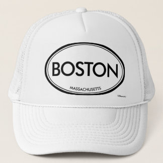Boston, Massachusetts Trucker Hat
