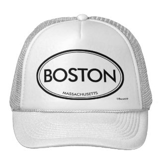 Boston, Massachusetts Trucker Hat