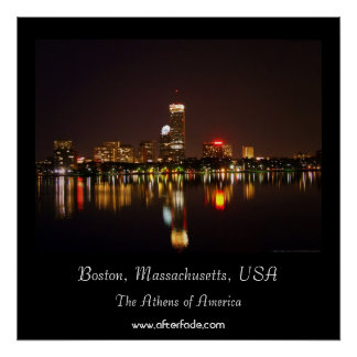 Boston, Massachusetts, USA Poster