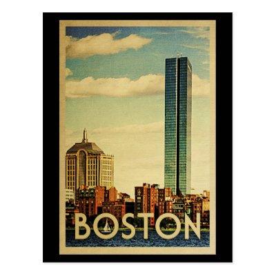 c1b28ed90d974 Boston Massachusetts Vintage Greetings From Postcard