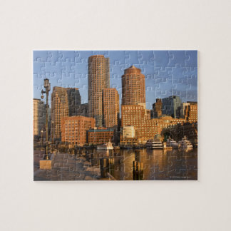 Boston, Massachusetts Waterfront Jigsaw Puzzle