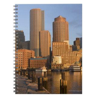 Boston, Massachusetts Waterfront Notebook