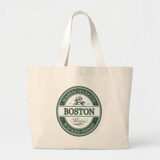 boston massachusetts - wicked pissah large tote bag