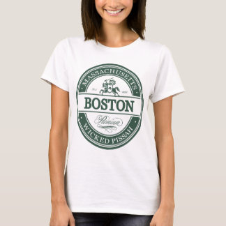 boston massachusetts - wicked pissah T-Shirt