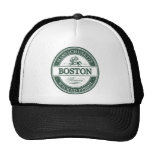 boston massachusetts - wicked pissah trucker hat